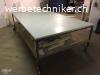Ateliertisch mit Zwischenboden, fahrbar